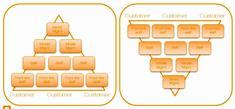 Por qué son diferentes las estructuras organizacionales?