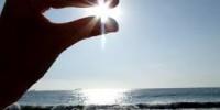 agarrar el sol