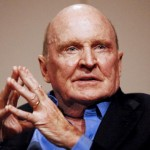 Jack Welch, former chairman of General Electric Co. (GE), sp