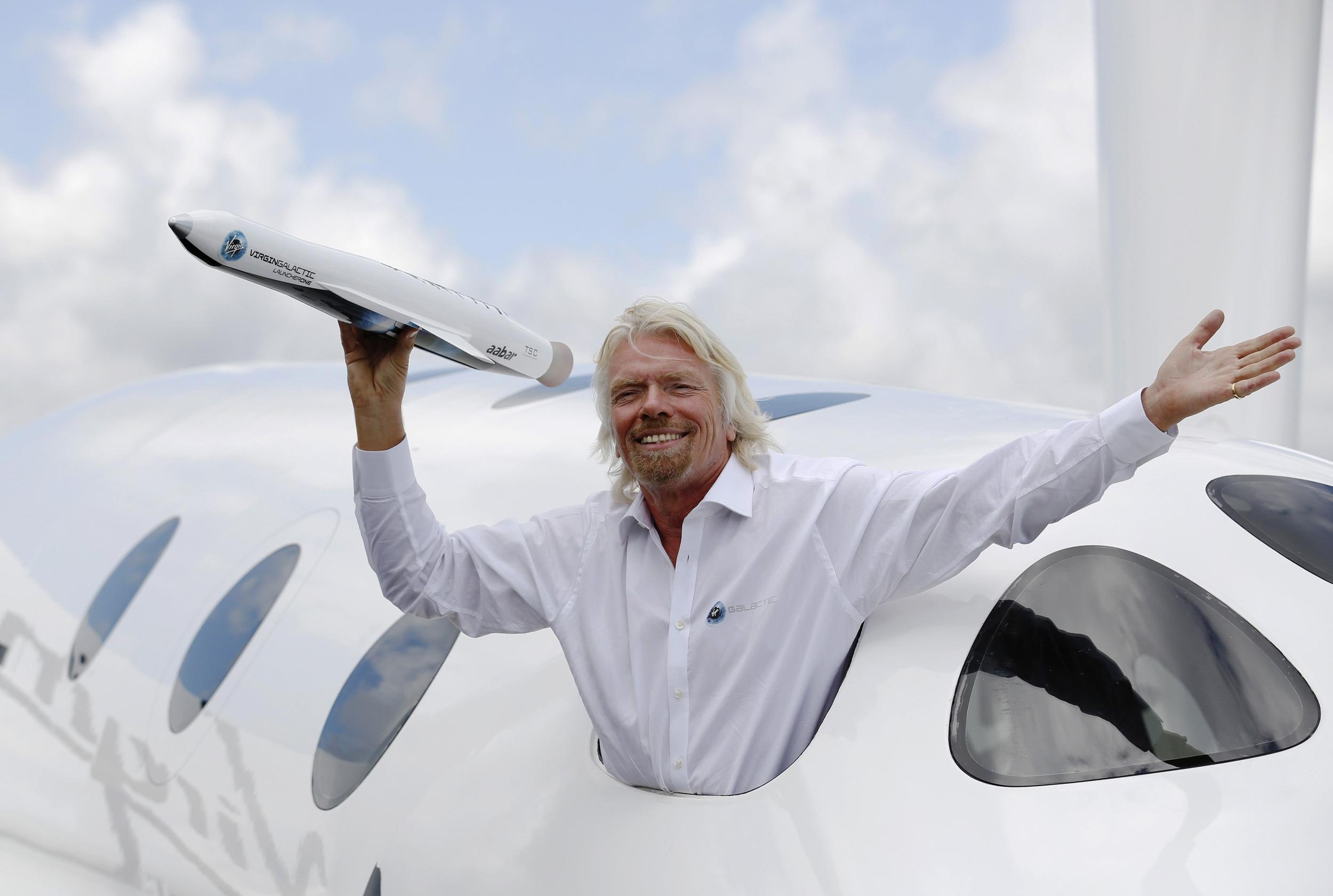 el magnate dueño de 'Virgin'