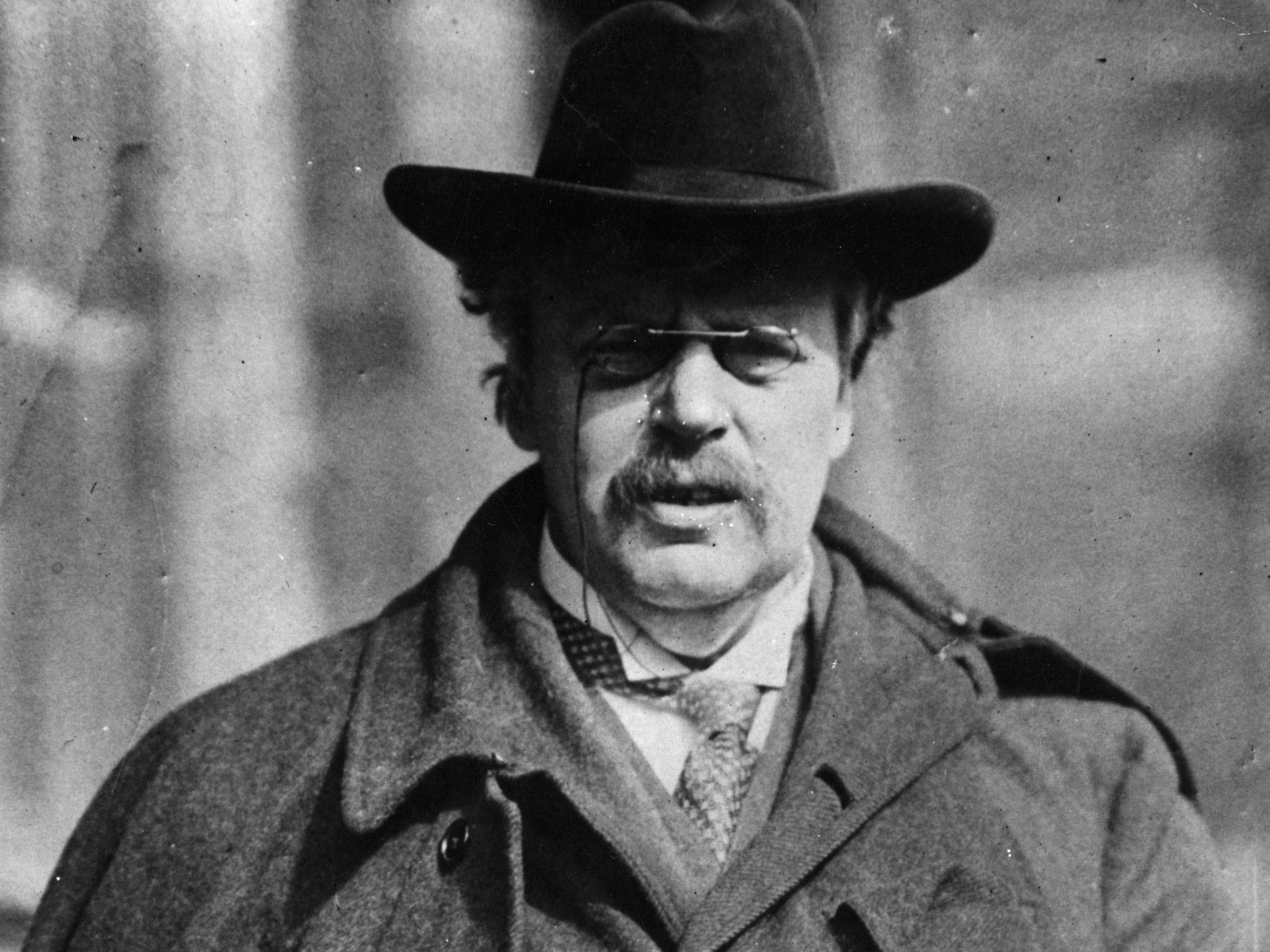 gilbert keith chesterton G k chesterton is remembered as a brilliant creator of nonsense and satirical  verse, author of the father brown stories and the innovative novel, the man who .