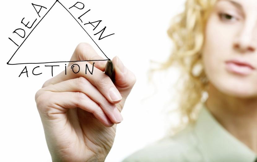 Los 7 pasos para lograr un objetivo.