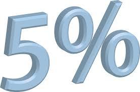 El 5%