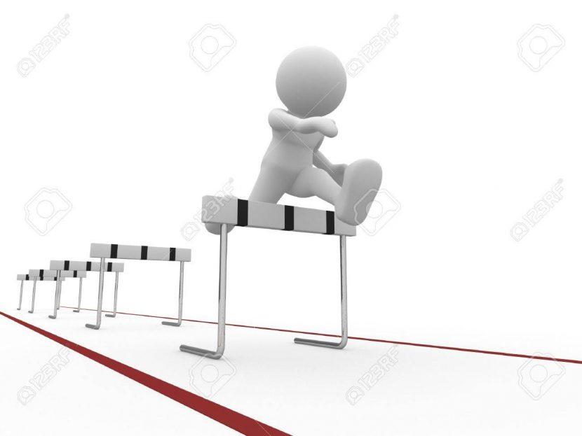 El saltador de obstáculos