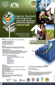 """Mexico:  4o. Congreso Nacional de Invstigación """"Empresas Familiares y Desarrollo Regional"""""""