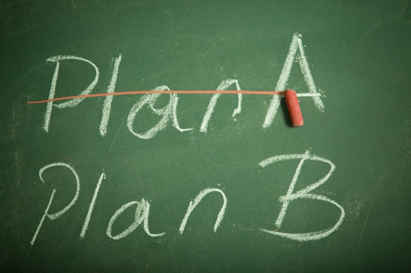 """Estrategia: Preparara ya un """"Plan B""""… ya que tu """"plan A"""" no funcionará"""