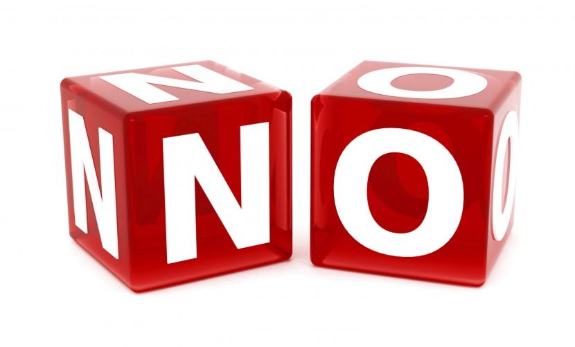 """¿Por qué """"No"""" es una palabra muy importante para los emprendedores?"""