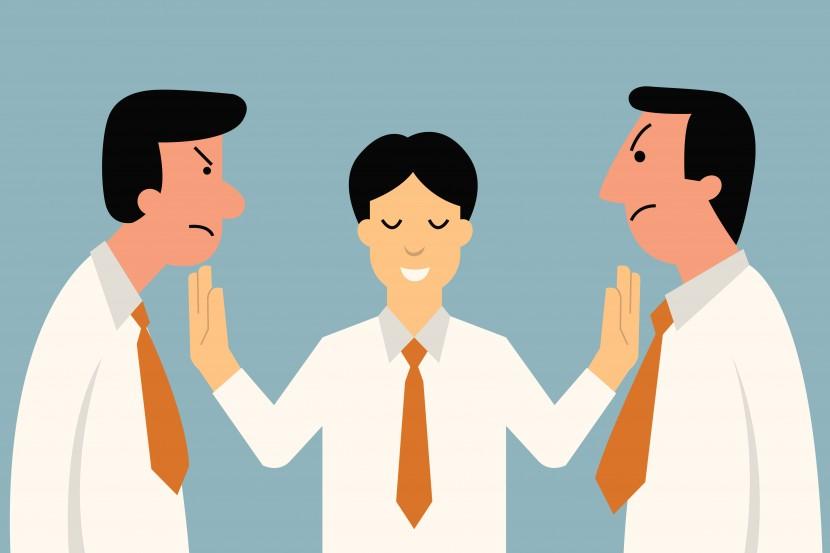 Los siete tipos de conflictos en la empresa.