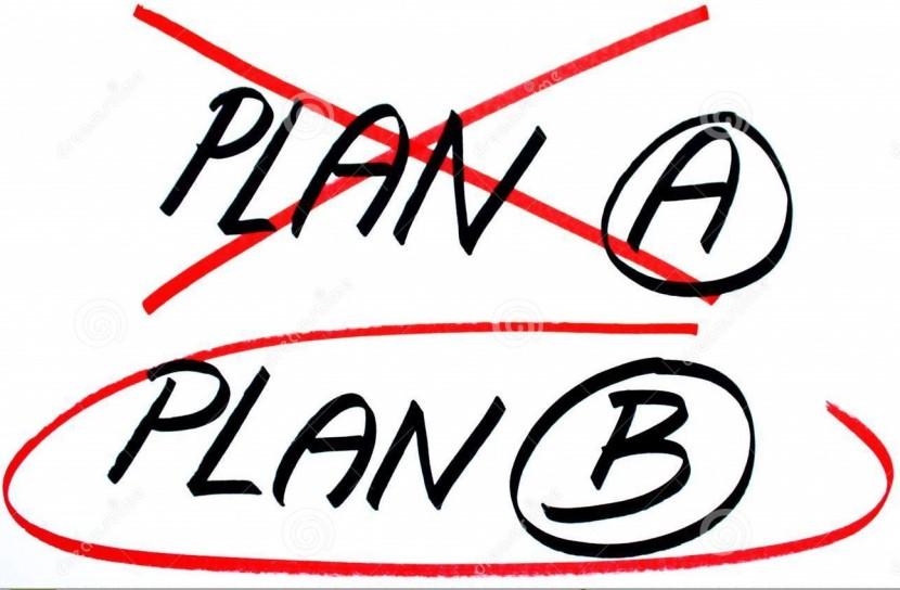 El plan A no ha funcionado, ¿qué hago ahora?