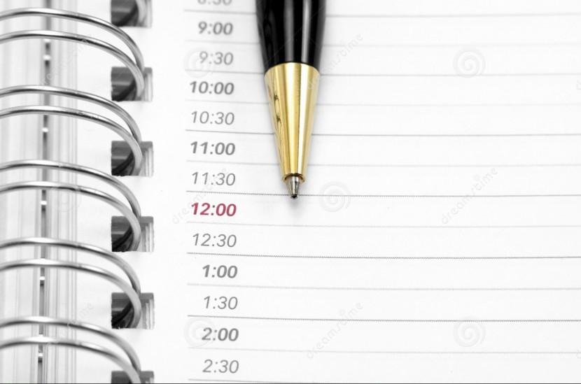 ¿Refleja tu agenda lo que te importa?