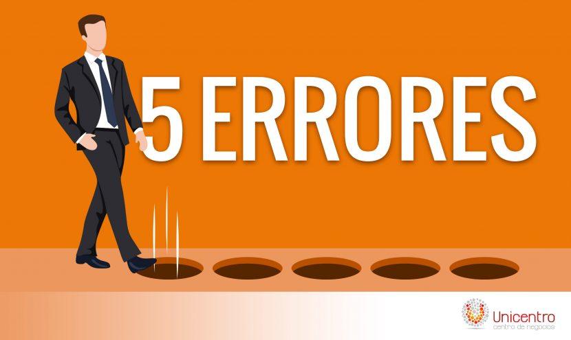 5 ERRORES RESPECTO A LOS LÍDERES