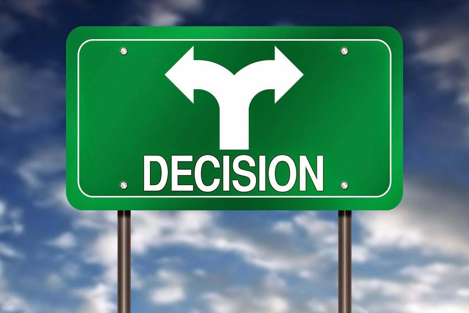 Resultado de imagen para Métodos Para Tomar Buenas Decisiones