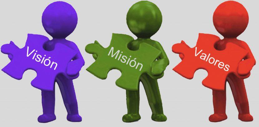 De misiones, visiones y valores