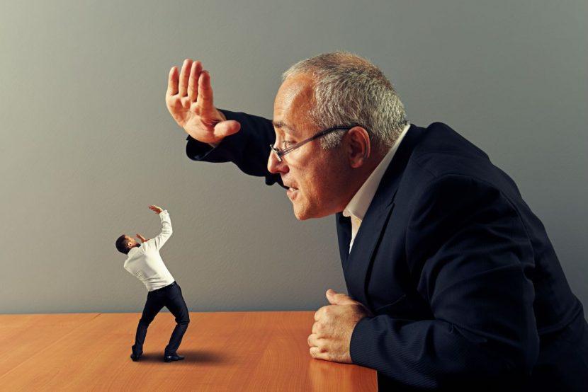 Por qué los jefes arruinan la efectividad