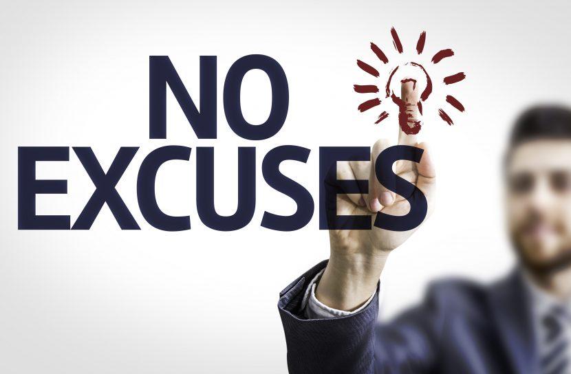 Claves para transformar tus excusas en acción