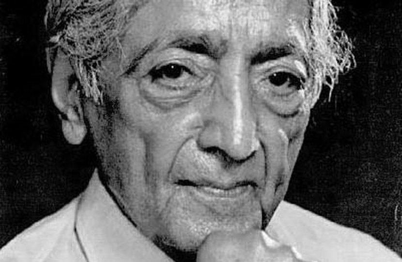 Jiduu Krishnamurti