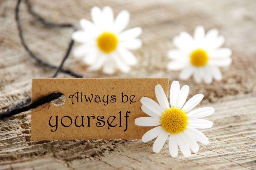 Ser tú mismo YA ¡¡¡Es urgente!!!
