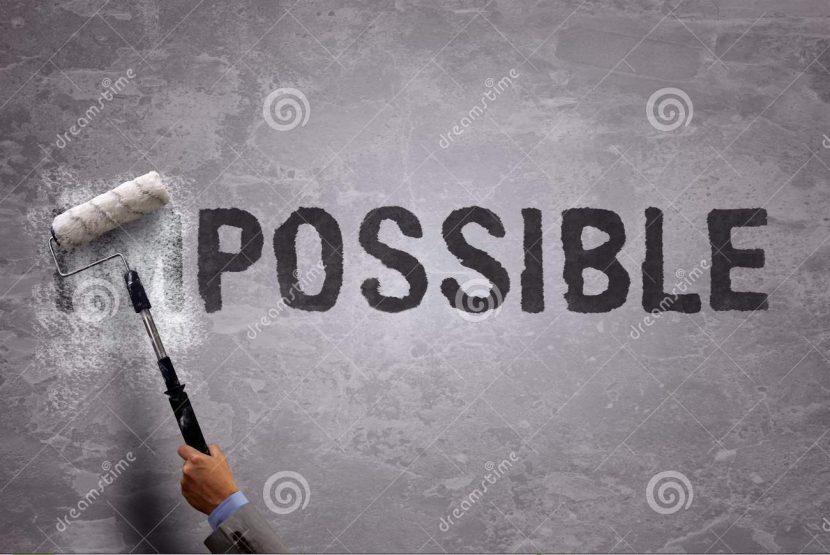 El tuyo es un objetivo IMPOSIBLE. ¿Seguro?