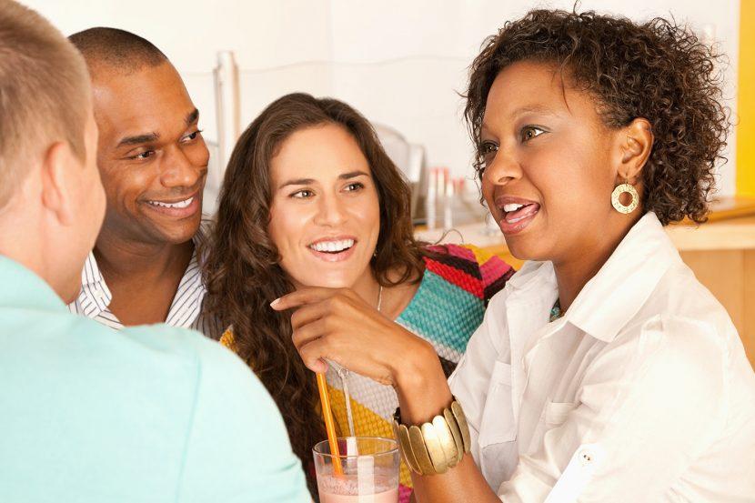 Relaciones auténticas: Los cuatro niveles de calidad de la conversación.