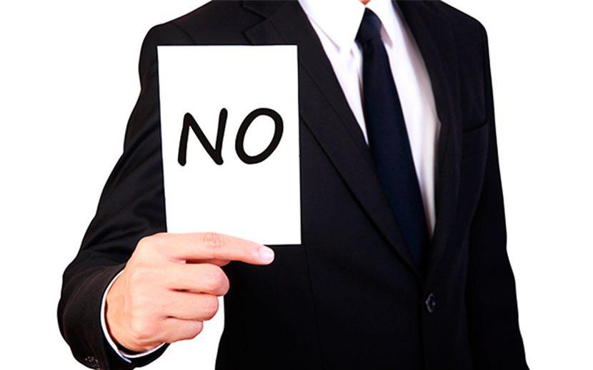 La efectividad comienza diciendo NO