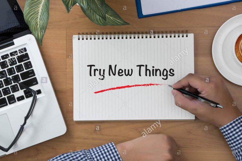 Por qué es tan difícil probar cosas nuevas
