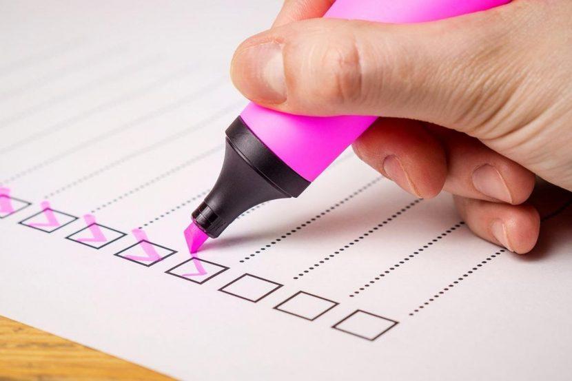 ¿Con qué criterios decides las tareas que tienes hacer?