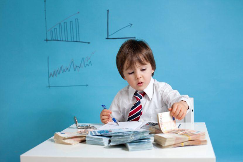 Por más pequeño que sea, su hijo también puede ser un emprendedor
