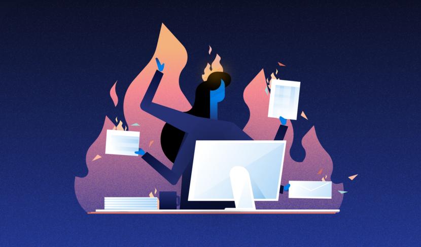 6 técnicas para no quemarte en el trabajo