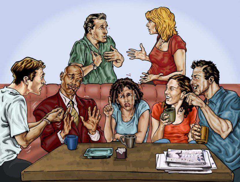 Los 7 hábitos más molestos en una conversación.