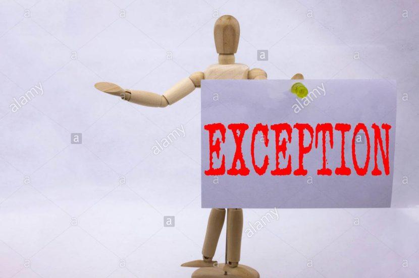 Gestión por Excepción