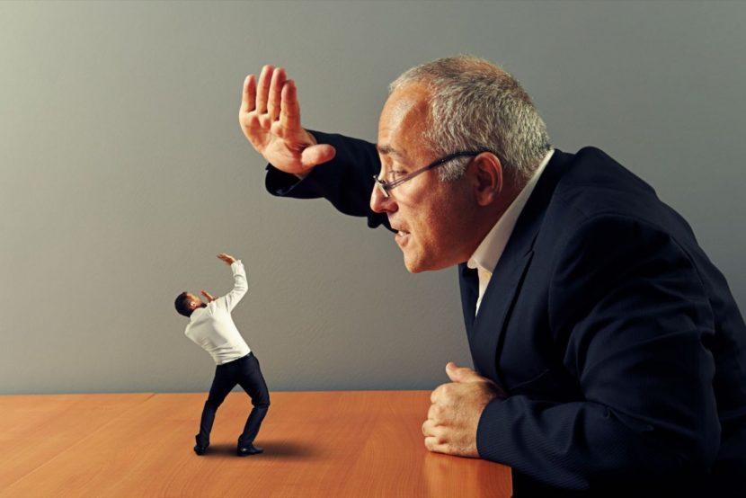 Veinticinco hábitos que hacen fracasar a un jefe