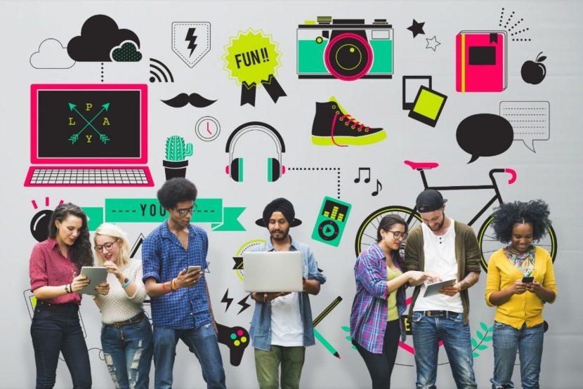 Un cóctel llamado vida: 'knowmads, millennials, socialnetworkers'.