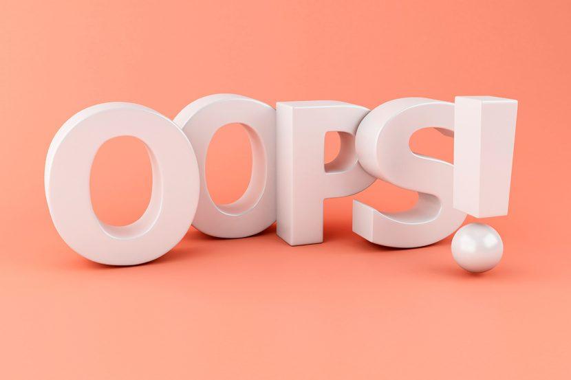 Los errores que las personas inteligentes no cometen dos veces