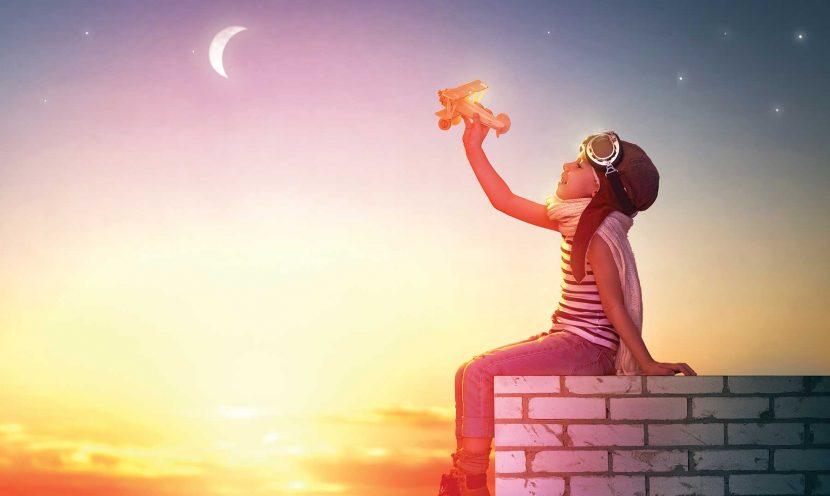 Déjate llevar por tus sueños, ideales y metas
