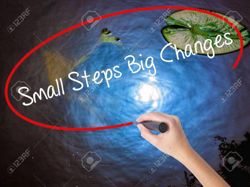 Pequeños hábitos para grandes cambios