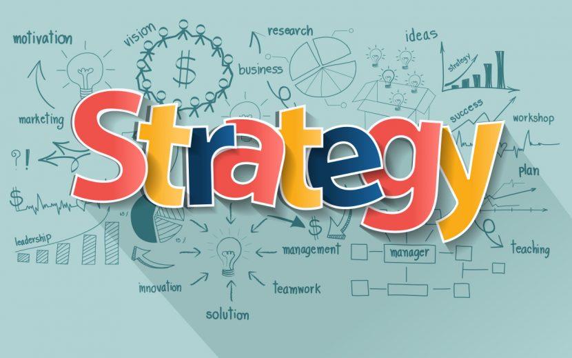 Los cuatro elementos para el diseño de una buena estrategia.