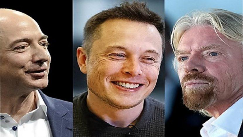 Branson, Musk, Bezos y Page te dicen cómo hacer que una empresa crezca exponencialmente