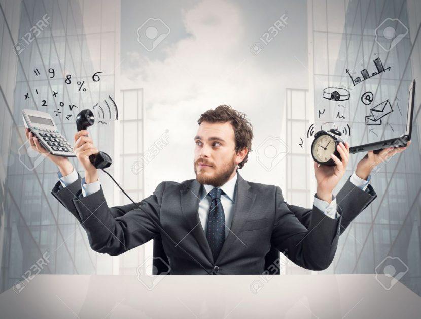 El tiempo de los gerentes ocupados