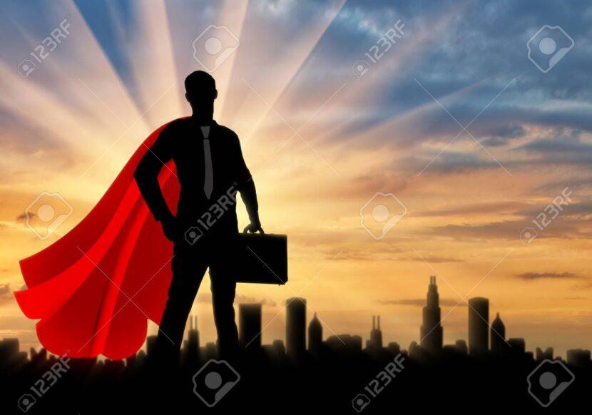 Yo no delego porque soy un superhéroe y puedo con todo…