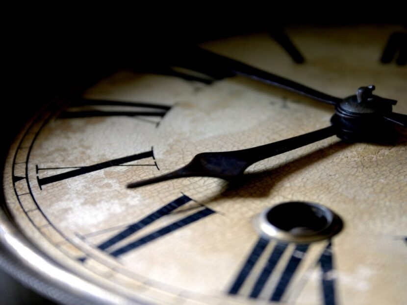 Cuando el tiempo se detiene