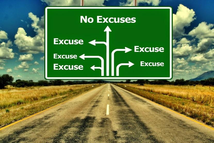 Lo que puedes aprender de las excusas que te dices