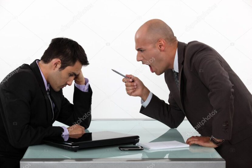 Cuando los directivos y ejecutivos descargan su estrés sobre sus colaboradores