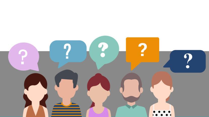 Los tipos de preguntas y la efectividad