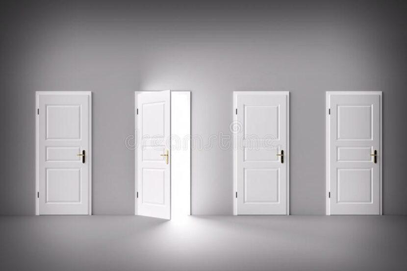 Las 4 puertas del cambio